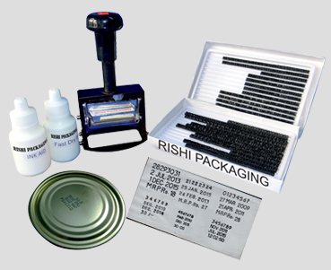 Hand Stamping System Date Coding Machine
